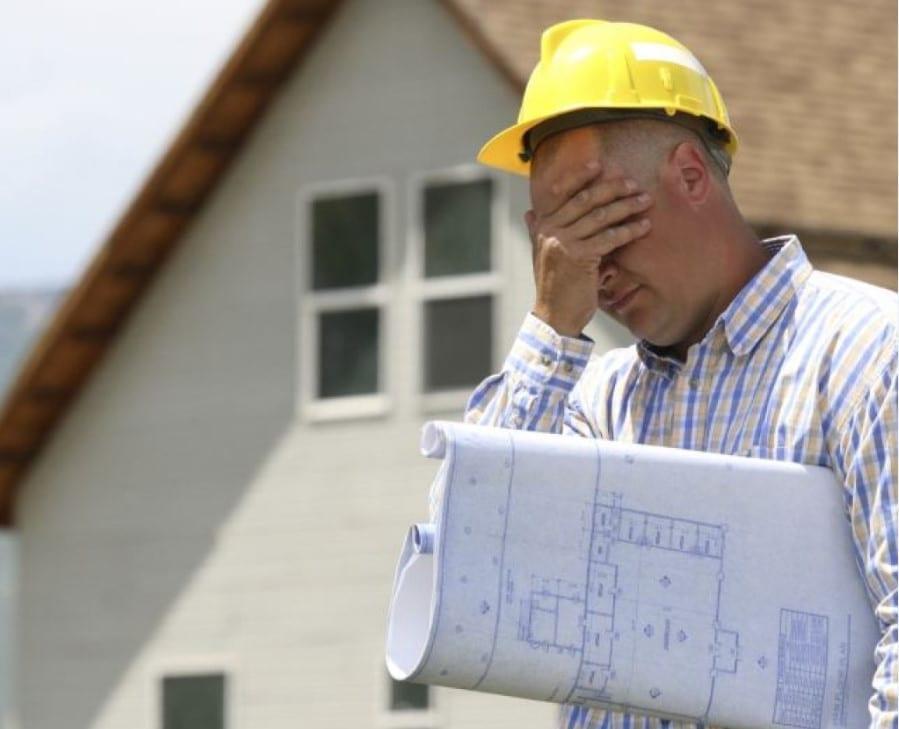 ошибки в строительстве